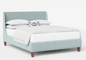 Sunderland Upholstered bed in Wedgewood fabric shown with Juno 1 mattress - Thumbnail