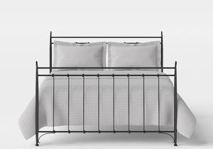 Tiffany iron bed in Satin Black - Thumbnail