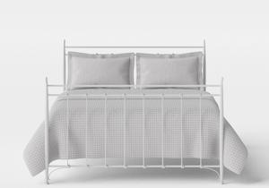 Tiffany iron bed in Satin White - Thumbnail