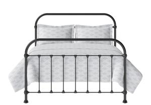 Timolin Iron/Metal Bed in Satin Black - Thumbnail