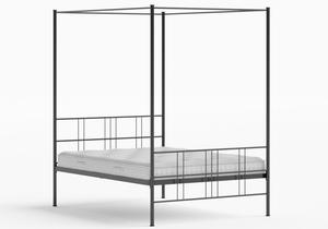 Toulon Iron/Metal Bed in Satin Black - Thumbnail