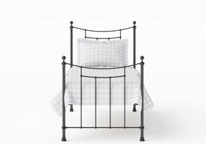 Winchester Single Iron/Metal Bed in Satin Black - Thumbnail