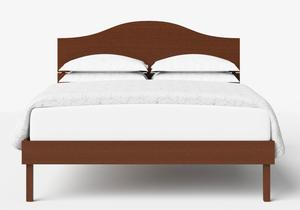 Yoshida Wood Bed in Dark Cherry - Thumbnail