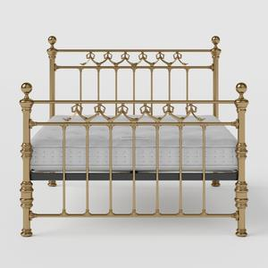 Braemore brass bed with Juno mattress - Thumbnail