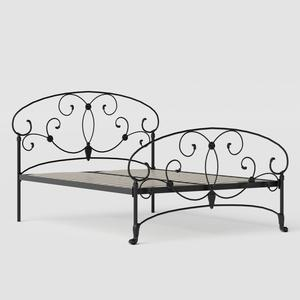 Arigna iron/metal bed in black - Thumbnail