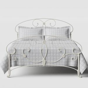 Arigna iron/metal bed in ivory - Thumbnail