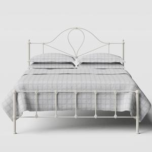 Athena iron/metal bed in ivory - Thumbnail