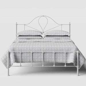 Athena iron/metal bed in white - Thumbnail