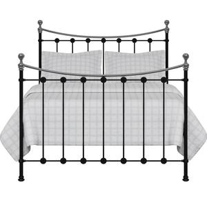 Carrick Chromo iron/metal bed in black - Thumbnail