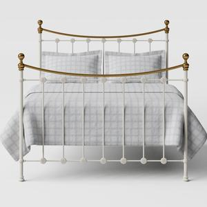 Carrick iron/metal bed in ivory - Thumbnail