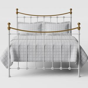 Carrick iron/metal bed in white - Thumbnail