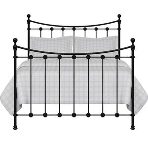 Carrick Solo iron/metal bed in black - Thumbnail