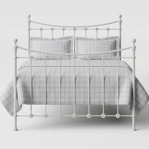 Carrick Solo iron/metal bed in ivory - Thumbnail