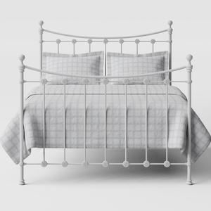 Carrick Solo iron/metal bed in white - Thumbnail