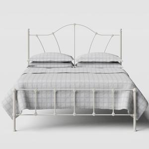 Claudia iron/metal bed in ivory - Thumbnail