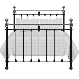 Hamilton Chromo iron/metal bed in black - Thumbnail