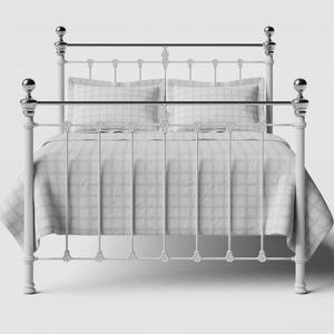 Hamilton Chromo iron/metal bed in white - Thumbnail