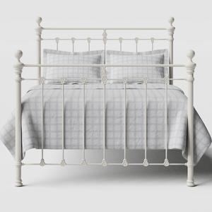 Hamilton Solo iron/metal bed in ivory - Thumbnail