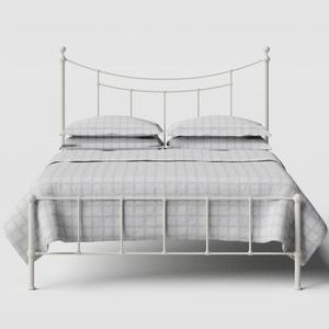 Isabelle iron/metal bed in ivory - Thumbnail