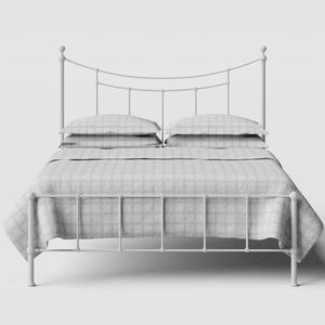 Isabelle iron/metal bed in white - Thumbnail