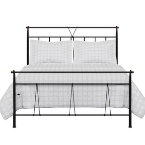 Pellini iron/metal bed in black - Thumbnail