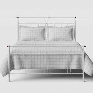 Pellini iron/metal bed in white - Thumbnail