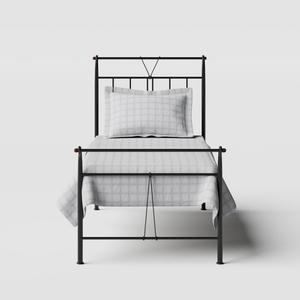 Pellini iron/metal single bed in black - Thumbnail