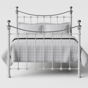 Selkirk Chromo iron/metal bed in white - Thumbnail
