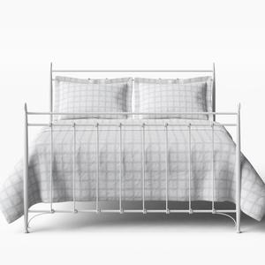 Tiffany iron/metal bed in white - Thumbnail