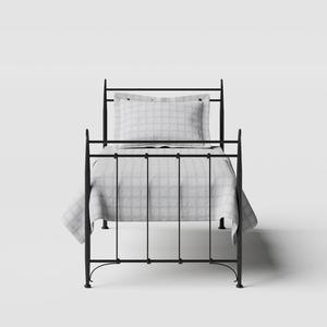 Tiffany iron/metal single bed in black - Thumbnail