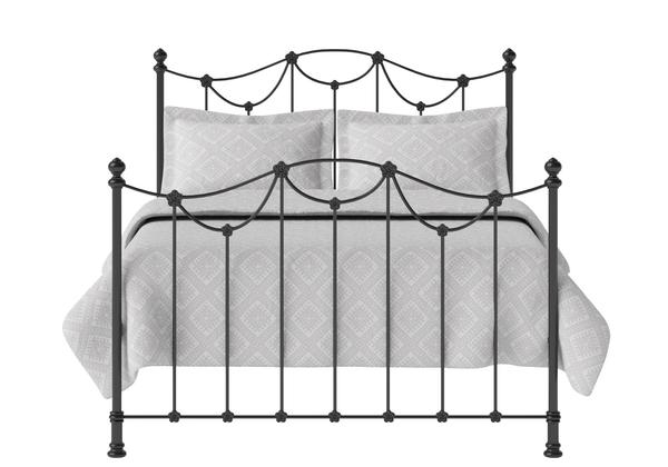 Carie Iron/Metal Bed in Satin Black - Thumbnail