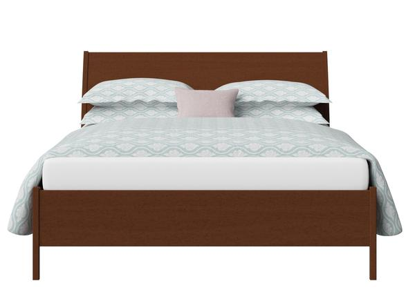 Hunt Wood Bed in Dark Cherry - Thumbnail