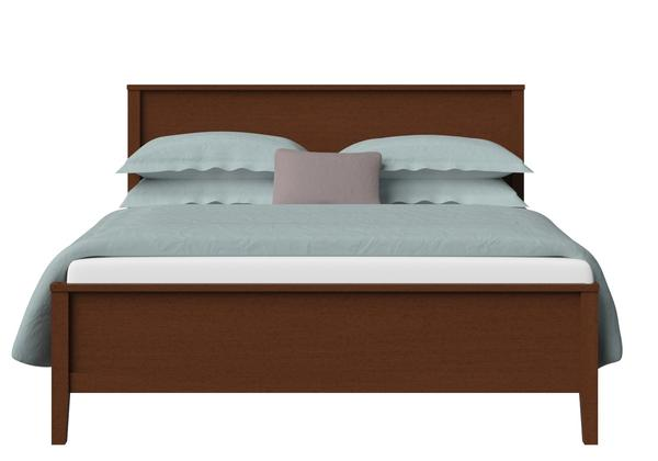 Ramsay Wood Bed in Dark Cherry - Thumbnail