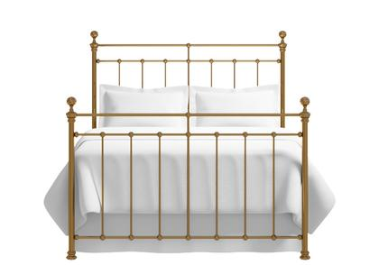 Blyth bed in a brass finish - Thumbnail