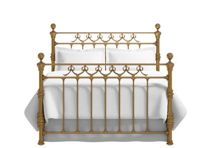 Braemore bed in a brass finish - Thumbnail