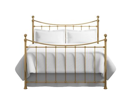 Kendal bed in a brass finish - Thumbnail